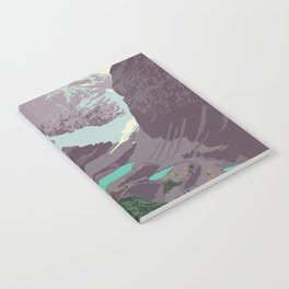 Yoho National Park Poster Notebook