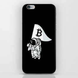 Bitcoin Astronaut iPhone Skin