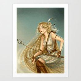 Artemis/Diana Art Print