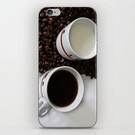 Coffee Yin Yan iPhone Skin