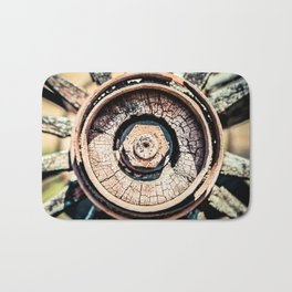 The Rusted Wheel Bath Mat