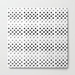 Christmas Pattern v2 Metal Print