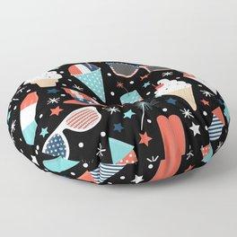 American Summer Floor Pillow