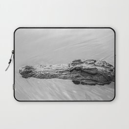 Gator Out For A Swim Laptop Sleeve