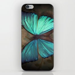 Vintage Butterfly iPhone Skin
