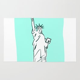 The Statue of Liberty Rug