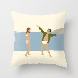 MOONRISE KINGDOM COVE Throw Pillow