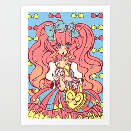 Sweet Lolita Art Print