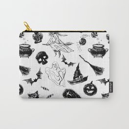 Halloween pattern design Carry-All Pouch