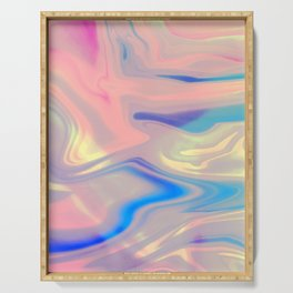Holographic Dreams Serving Tray