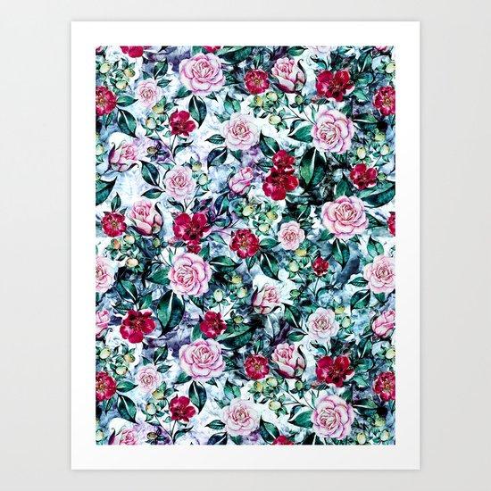 Beautiful Garden IV Art Print