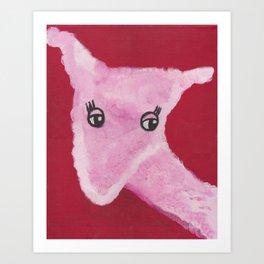 Uterus Sheep Art Print