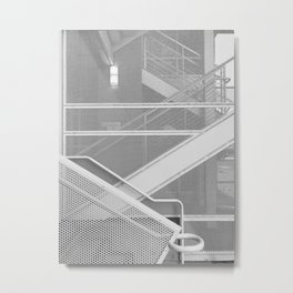 Handrail Metal Print