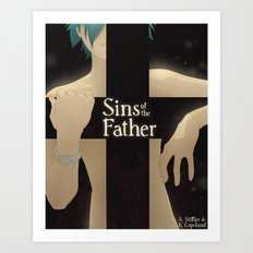 Sins of the Father - Cover Art Print