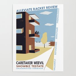 Alleviate Racket Review Poster