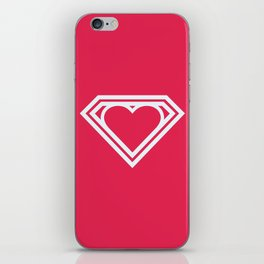 Superlove iPhone Skin