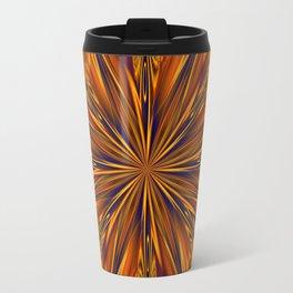Golden Star Burst Travel Mug