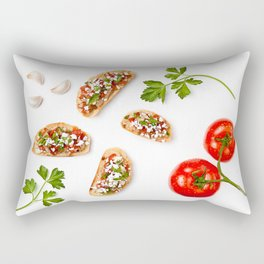 Bruschetta Baby! Rectangular Pillow