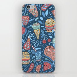 Summer cookout iPhone Skin