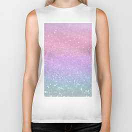 Unicorn Princess Glitter #1 (Photography) #pastel #decor #art #society6 Biker Tank
