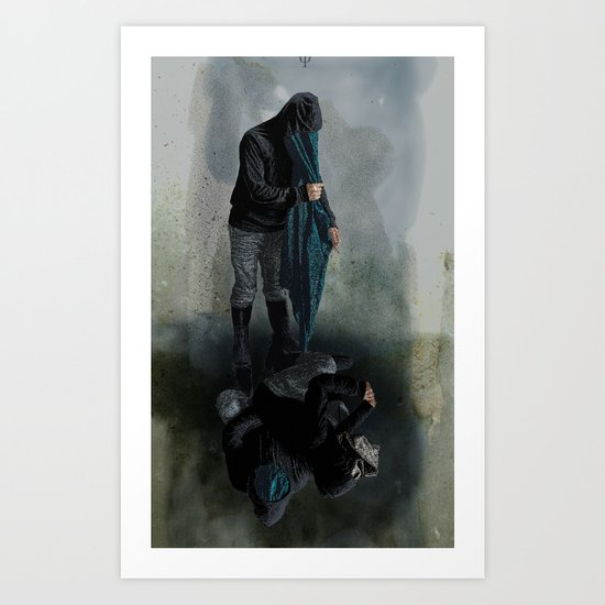 String Theory: Collapsing Wavefunction, Ninth Tangible Art Print