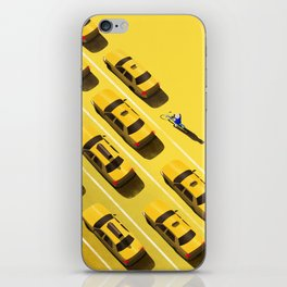 New York Cabs iPhone Skin