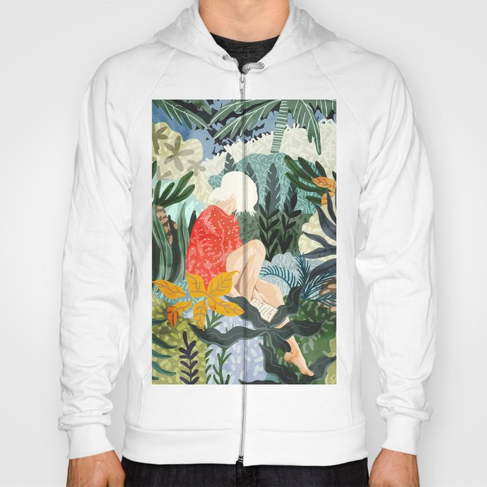 The Distracted Reader Hoody