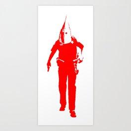 KKKop (red edition) Art Print