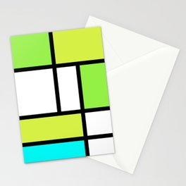 The fake Piet Mondrian Stationery Cards