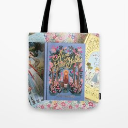 Anne of Green Gables Books Tote Bag