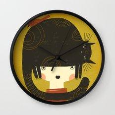 NAPPY HAT Wall Clock