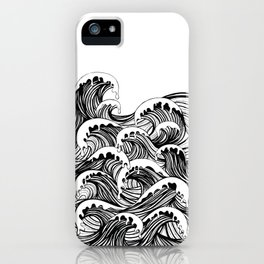 the river laughed, giggle giggle giggle iPhone Case
