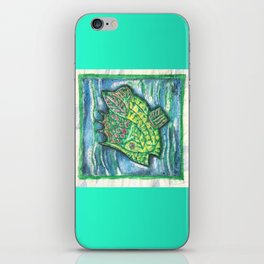 Counter Fish iPhone Skin