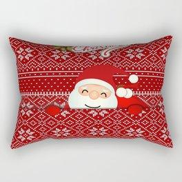 Noel Surprise Hiding Christmas Gift Rectangular Pillow