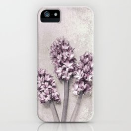 Delicate Hyacinths iPhone Case