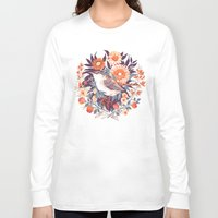 death Long Sleeve T-shirts featuring Wren Day by Teagan White