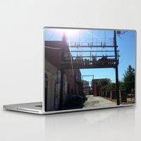 oklahoma Laptop & iPad Skins featuring Oklahoma Ally by HmmCades