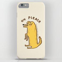 Honest Dog iPhone Case
