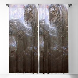 Marvelous Gracious Animal Beasts Spirits Hailing From The Sky UHD Blackout Curtain