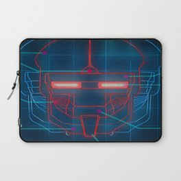 Neon Schematics Laptop Sleeve