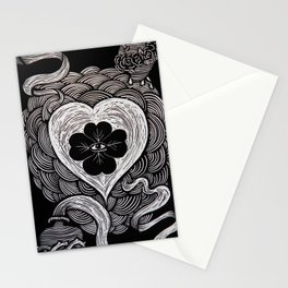 The Silver String. LUCKY LOVE. Stationery Cards