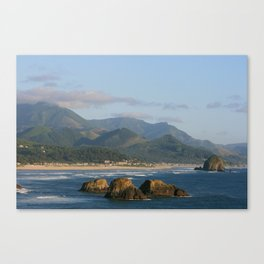 Ecola View Point Canvas Print