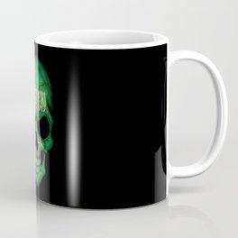 Dark Skull with Flag of Saudi Arabia Coffee Mug