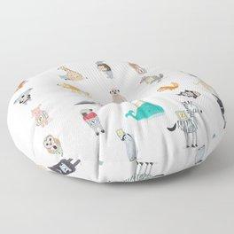 little alphabet Floor Pillow