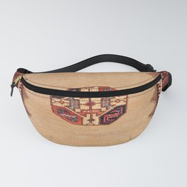 Baluch Sofreh Khorasan Northeast Persian Rug Print Fanny Pack