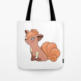 Blushing Vulpix Tote Bag