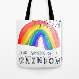 The Physics of a Rainbow Tote Bag