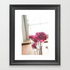 Fluttery Pink | Flowers Framed Art Print