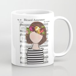 Blessed Assurance - Brunette Bob Coffee Mug