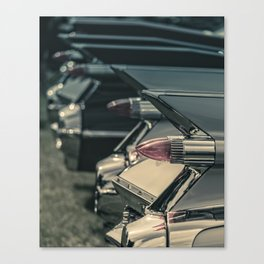 Caddy Fins Canvas Print